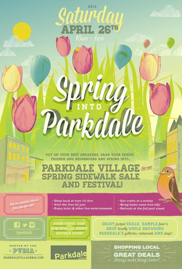 Spring into Parkdale Sidewalk Sale & Festival - 2014